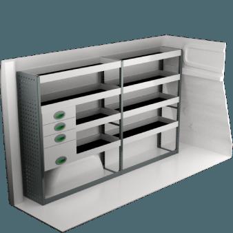 Fiat Talento L1H1 | Bilinredning och tillbehör | System Edström