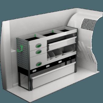 Ford Connect L1 | Bilinredning och tillbehör | System Edström