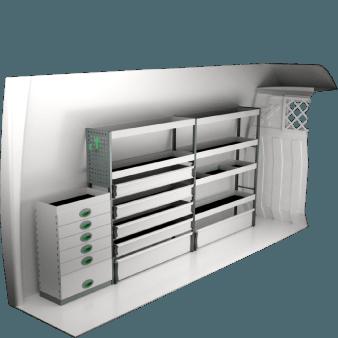 Iveco Daily 12M H2 | Bilinredning och tillbehör | System Edström