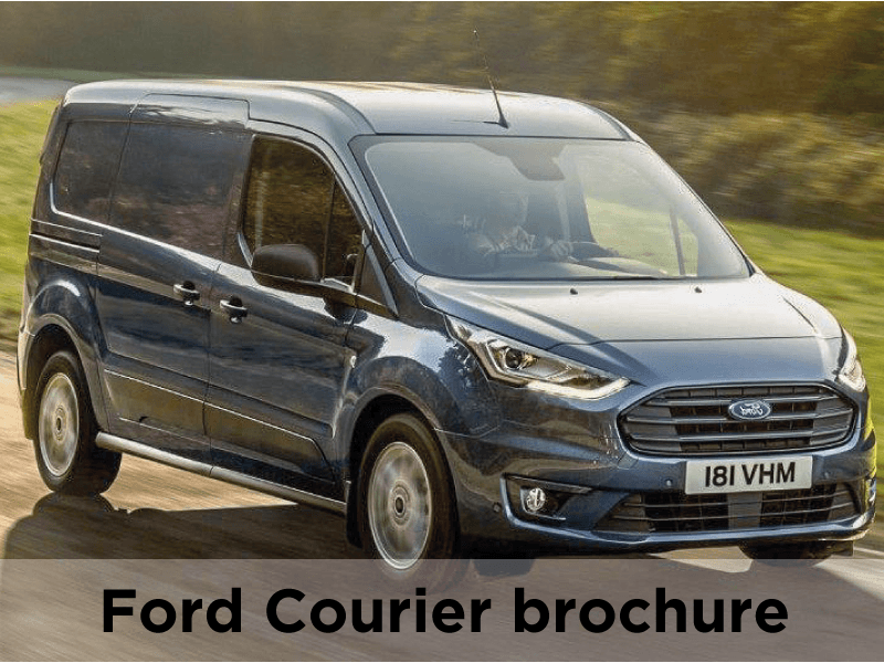 Ford Courier broschure