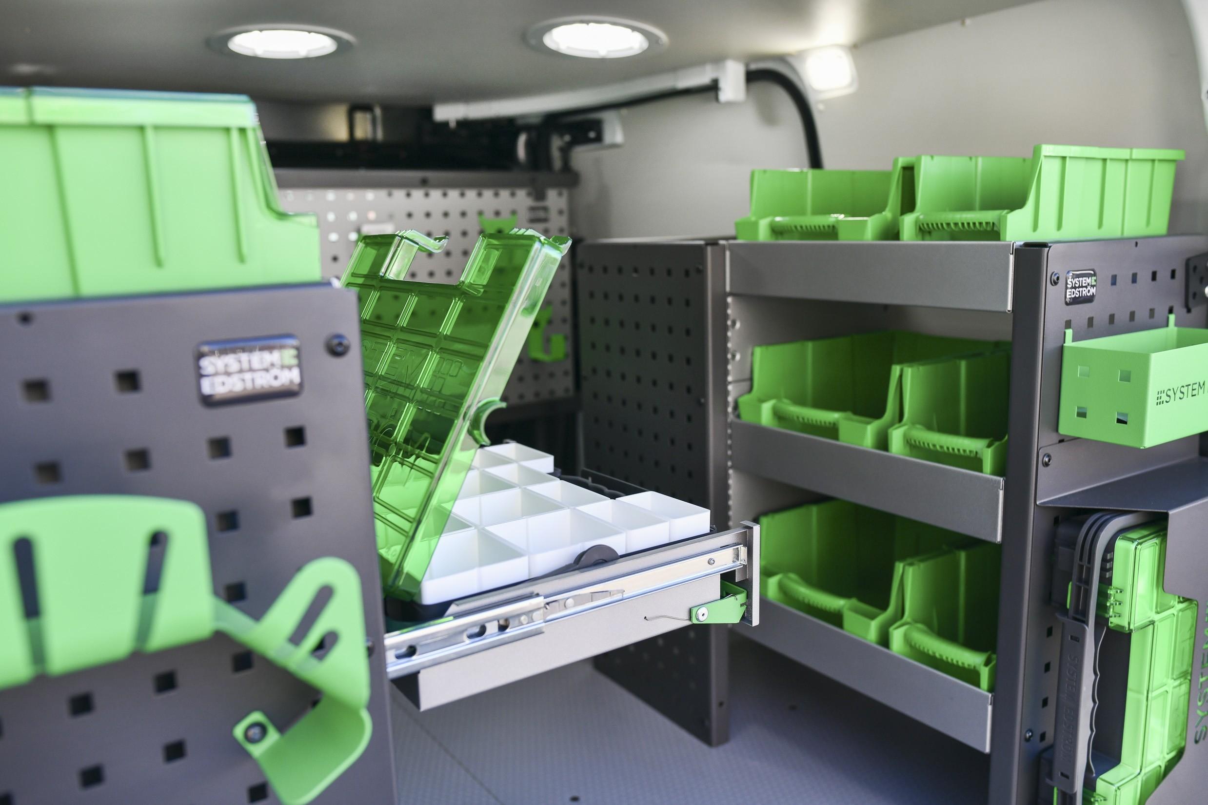 bilutrustning för den mobila arbetsplatsen