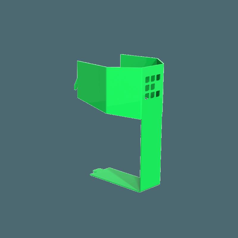 Sparyburkshållaren till arbetsbil