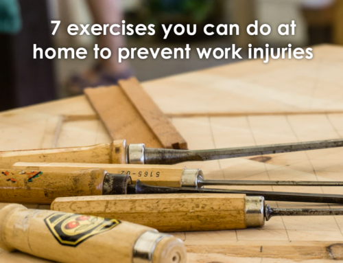 7 exercises you can do at home to prevent work injuries
